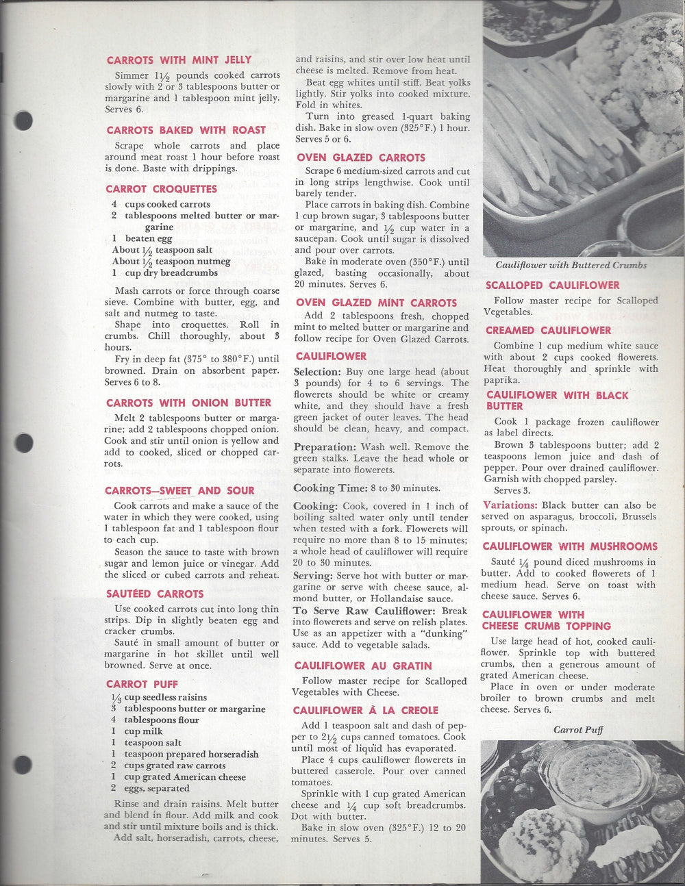 Mary Margaret McBride Encyclopedia of Cooking Cook Book Deluxe Edition 1960 (2ND EDITION) (PAGES 1313-1344)