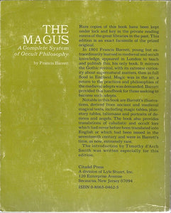 The Magus (a Complete System of Occult Philosophy) by Francis Barrett 1967