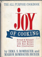 JOY of COOKING by Irma Rombauer & Marion Becker 1974