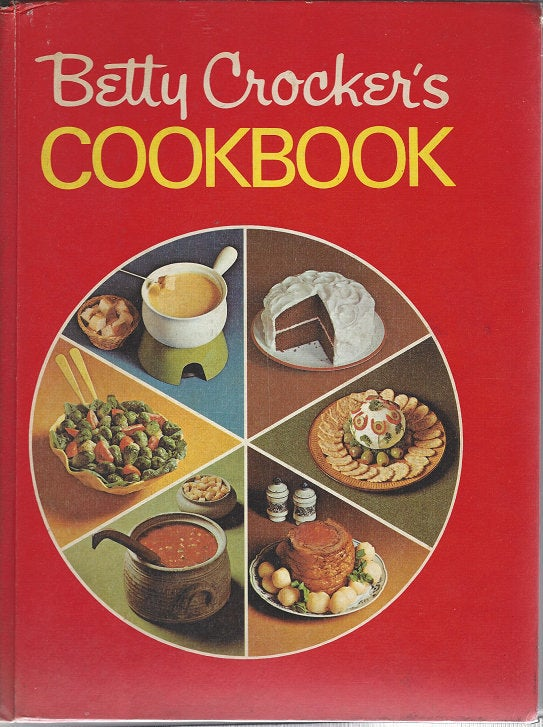 Betty Crocker's Pie Cook Book 1969 1st Edition/1st printing