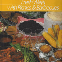 TIME-LIFE: Healthy Home Cooking; Fresh Ways with Picnics & Barbecues (1989)