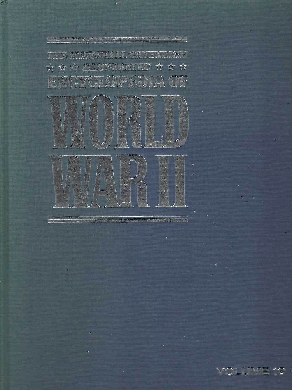 The Marshal Cavendish Illustrated Encyclopedia of World War II  (Volume 19)  Central Pacific; The First Battles    (1972)