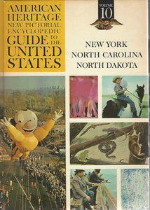American Heritage New Pictorial Encyclopedic Guide to the United States:  Volume 10   (1965)