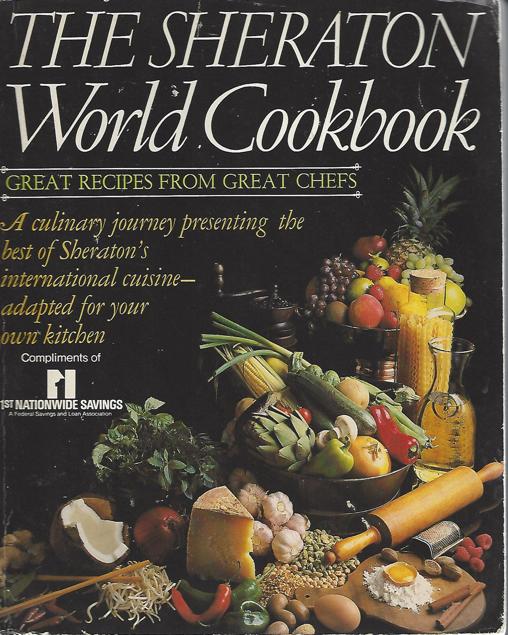 The Sheraton World Cookbook     Softcover (1982)
