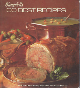 Campbell's 100 Best Recipes  Hardcover (1977)