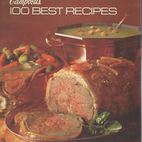 Campbell's 100 Best Recipes  Hardcover (1970)