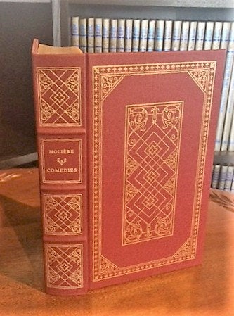 Comedies by Moliere Franklin Library (Leatherette)
