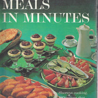Better Homes and Gardens: Creative Cooking Library-Meals in Minutes Cook Book (Hardcover)