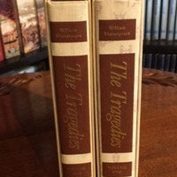 HERITAGE PRESS: William Shakespeare; The Tragedies   2 Volume Set     (1986)