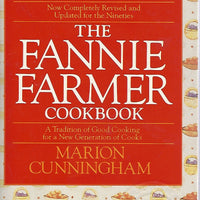 The Fannie Farmer Cookbook by Marion Cunningham  (Softcover Edition)