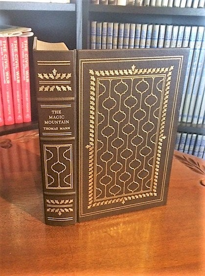 The Magic Mountain by Thomas Mann Franklin Library (Leatherette)