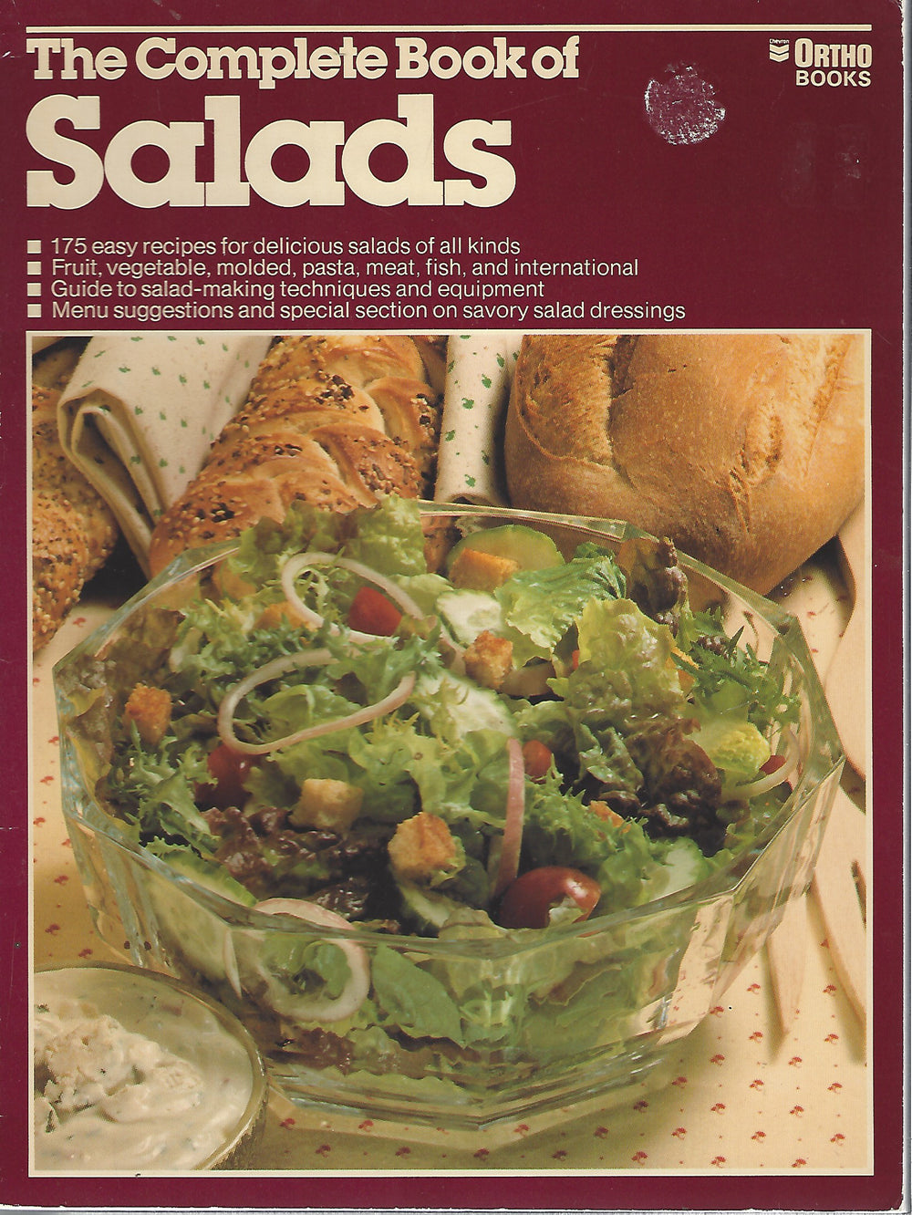 The Complete Book of Salads by Ortho Books   Softcover   (1981)
