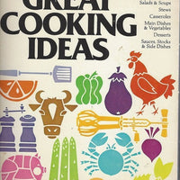 Great Cooking Ideas by Hattie Carter (RARE) 1979
