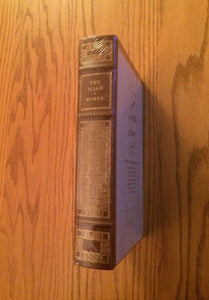 The Iliad of Homer (Franklin Library) Leather Bound (SEALED MINT)