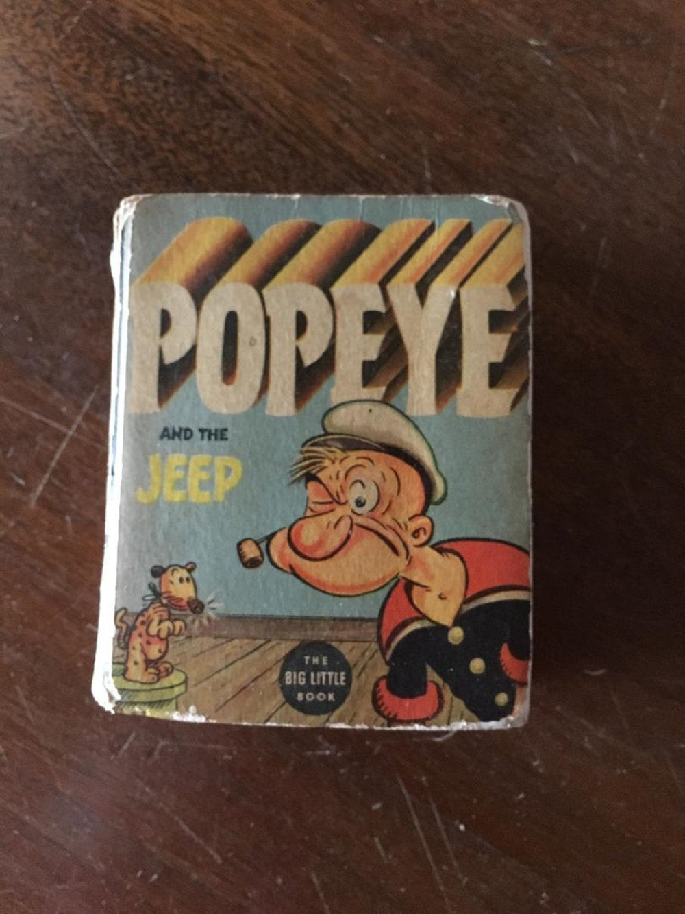 POPEYE and the JEEP (1937) Better Little Book (Whitman)