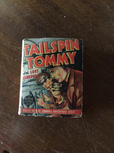 TAILSPIN TOMMY and the Lost Transport (1940) Better Little Book (Whitman)