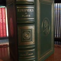 Euripides-Nine Plays Franklin Library Leather Bound (NEAR MINT)