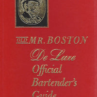 OLD Mr. Boston Deluxe De Luxe Official Bartender's Guide  (1966)