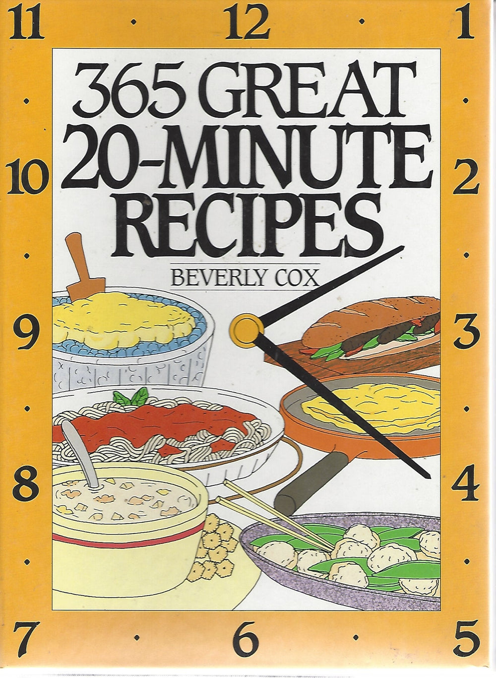 365 Great 20-Minute Recipes  by Beverly Cox   (1995) Spiral