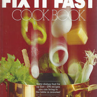 Better Homes and Gardens: Fix it Fast  Cook Book (Hardcover)