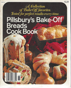 Pillsbury's Bake Off Breads Cookbook by Pillsbury Publications (1968) Softcover