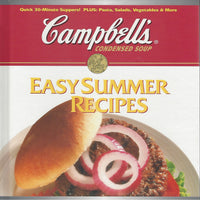 Campbell's Easy Summer Recipes     Hardcover 1995