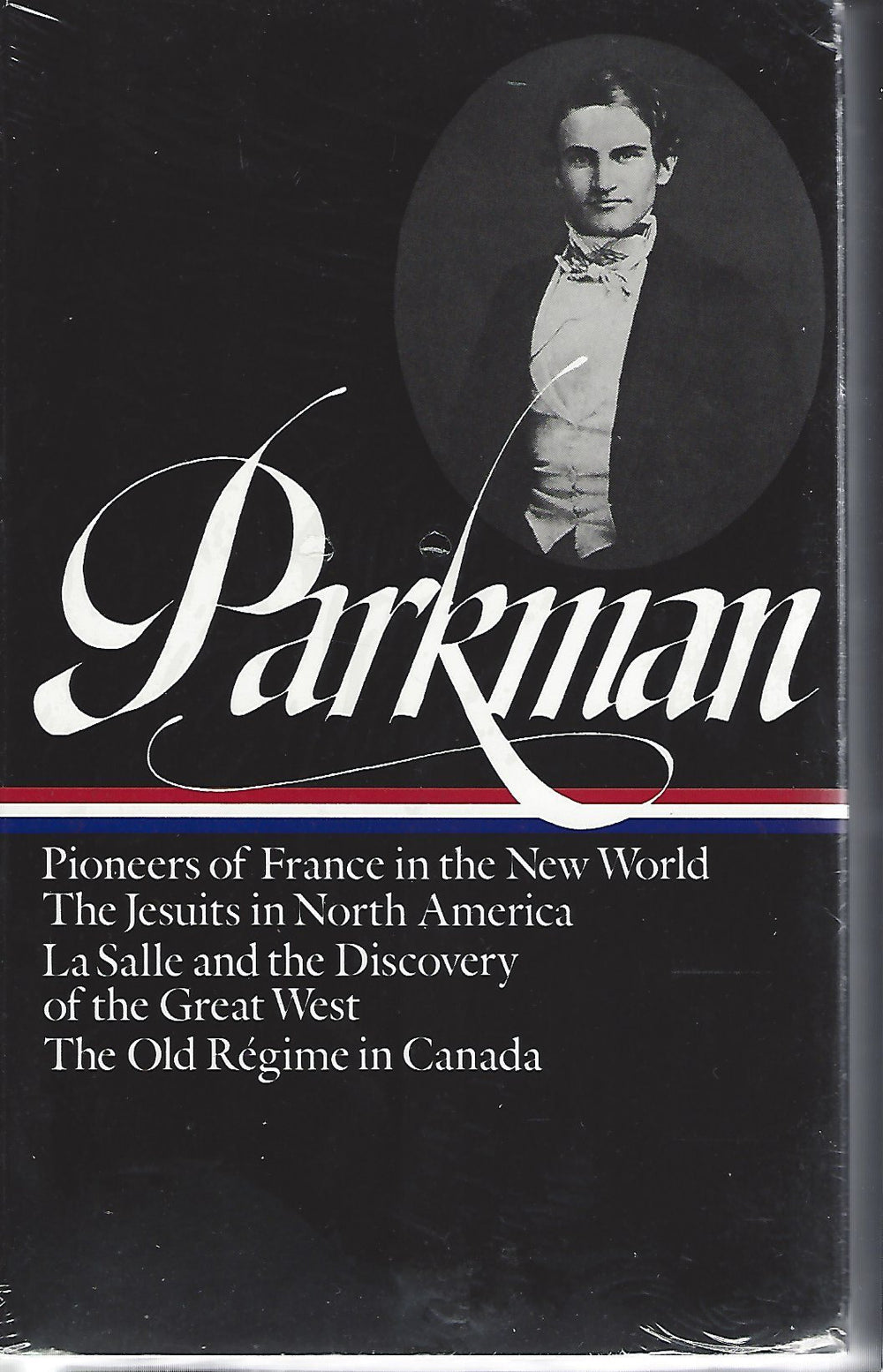 Parkman (Volume 1) France and England in North America (The Library of America) SEALED