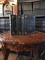 Lewis and Clark Journals of the Expedition Volume I & II-Undaunted Courage (Signed) (SEALED) Easton Press Leather Bound  (1998)
