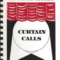 Oakland University Meadow Brook Theatre Guild presents Curtain Calls Cookbook  Spiralbound (1992)