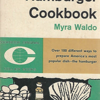 The Hamburger Cookbook by Myra Waldo  (Softcover)  1962