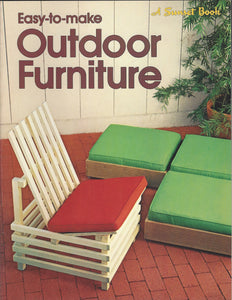 SUNSET-Easy-to-make outdoor furniture (Softcover) (1970)