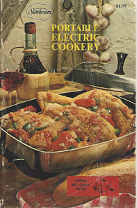 Sunbeam Portable Electric Cookery (Softcover)  1970