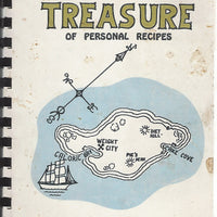 Treasure of Personal Recipes, Lakeview Ohio  (Spiral Cookbook) Third Printing 1974