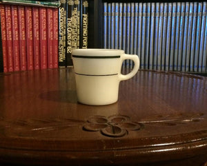 "Vintage PYREX Coffee Cup-Tableware by Corning (3"" x 3"")"