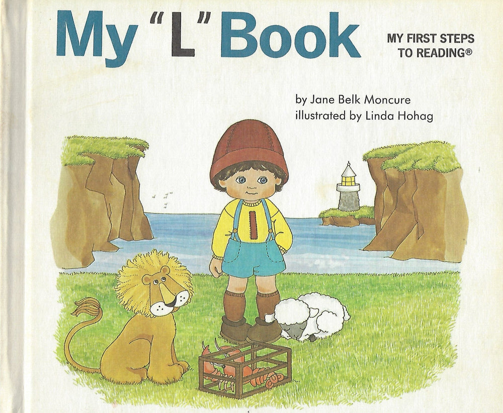 "My ""L"" Book (My First Steps To Reading) By Jane Moncure (Hardcover) 1991"