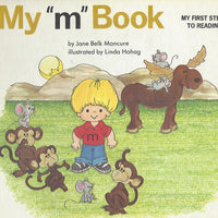 "My ""m"" Book (My First Steps To Reading) By Jane Moncure (Hardcover) 1991"