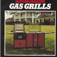 Ducane Gas Grills Instruction Manual and Cookbook     (Softcover)