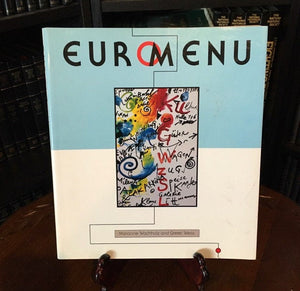 EuroMenu by Marianne Wachholz and Gretel Weiss   (Softcover) 1993