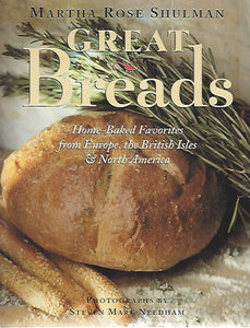 Great Breads by Martha Rose Shulman (Softcover)  1995