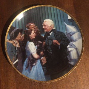 "The Great and Powerful Oz--Wizard of Oz    8 1/2"" Collectors Plate  (Hamilton Collection)"