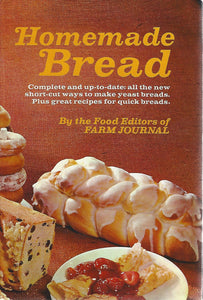 Homemade Bread by Farm Journal (Hardcover)  1969