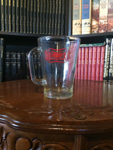 Miller High Life -- Glass Beer Pitcher --Vintage 1970's
