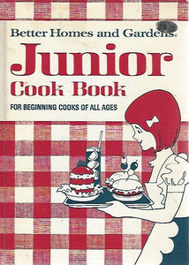 Better Homes and Gardens Junior Cook Book for Beginners (Hardcover) 1972