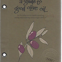 Zingerman's Guide to Good Olive Oil by Ari Weinzweig (Softcover)  1995