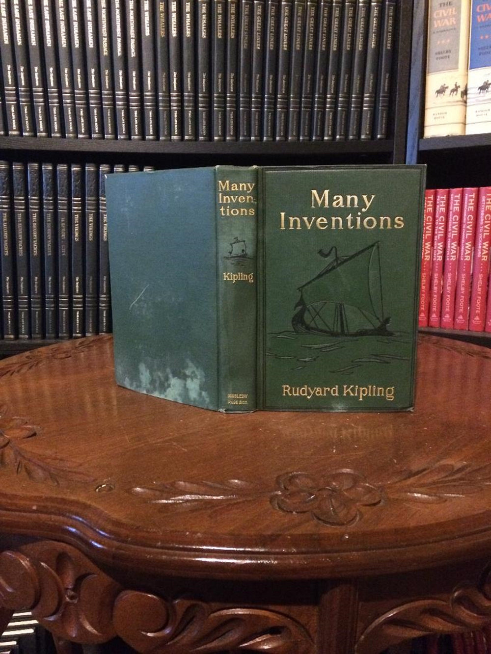 Many Inventions by Rudyard Kipling 1908