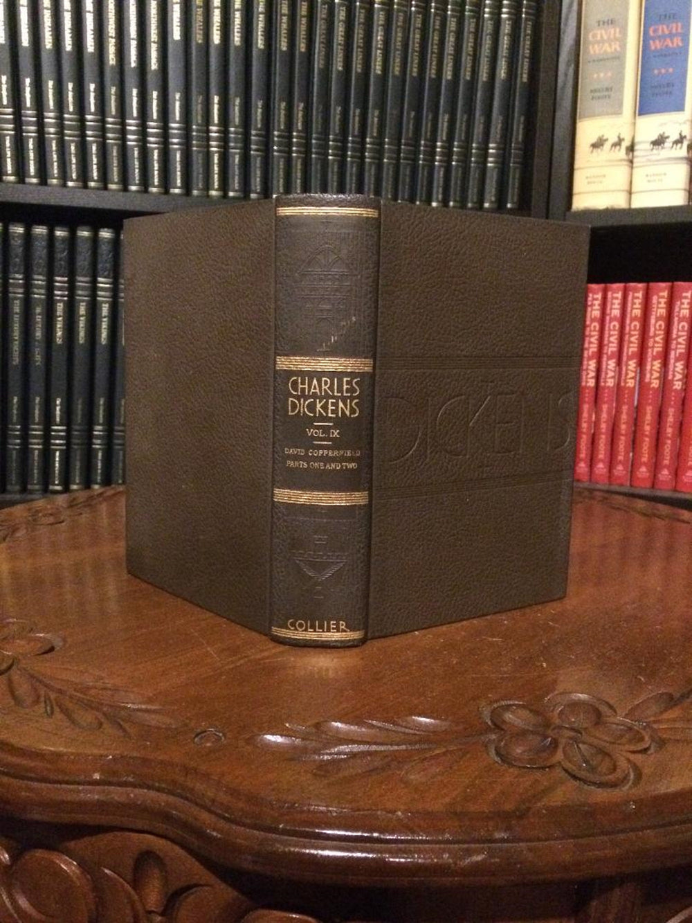 David Copperfield by Charles Dickens COLLIER (Hardcover)