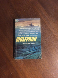 Wolfpack by William M. Hardy (Softcover) DELL 1st Printing (1962)
