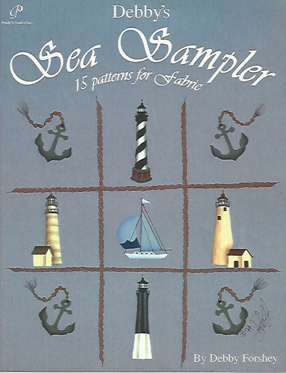Debby's Sea Sampler by Debby Forshey (Softcover) 1994 NOS