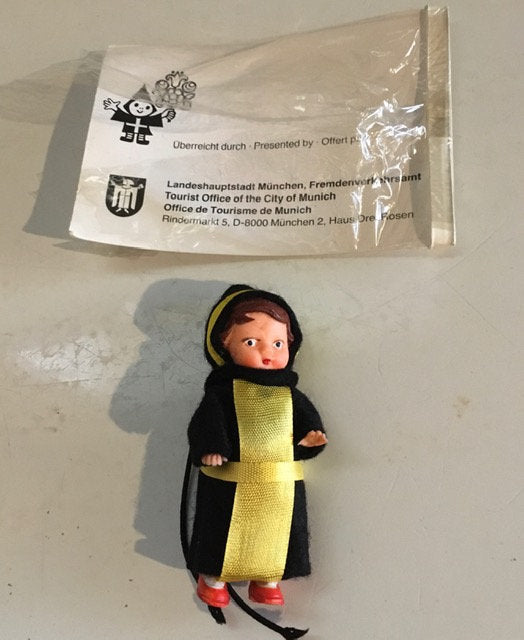 The Little Munich Child Doll (Munchner Kindl) in (opened) package