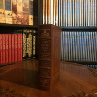 Shelby Foote's The Civil War-A Narrative Volume 1 (Signed) Leather Bound Easton Press